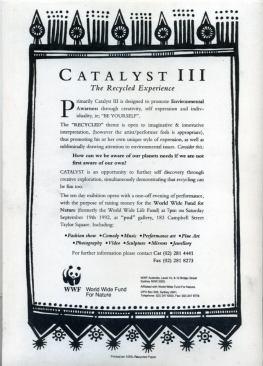 Catalyst 3, 1992, Sydney NSW Press Release