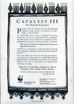 Catalyst 3, 1992, Sydney NSW Press Release