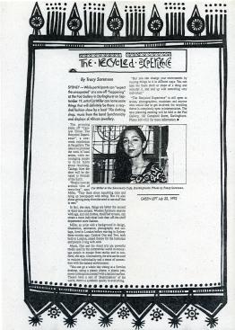 Catalyst 3, 1992, Sydney NSW Interview