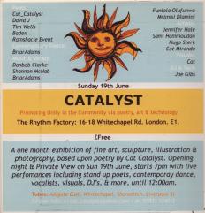 Catalyst 8, 2005, Tower Hamlets
