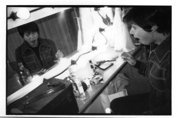 Backstage at The Kirk, Sydney, '97